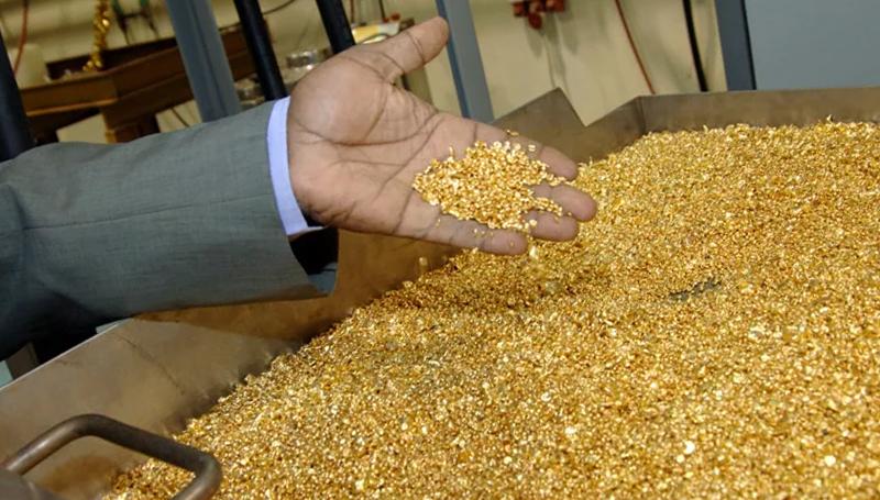 Добыча золота в мире
