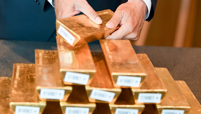 gold reserve of Germany