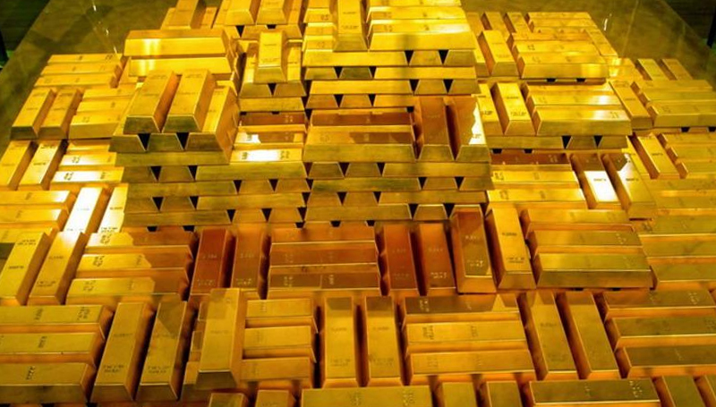gold reserves of the world